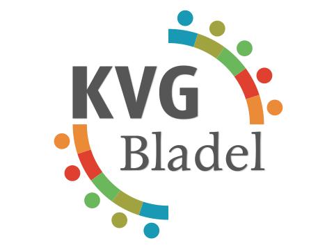 Berucht Ontwerp logo KVG Bladel